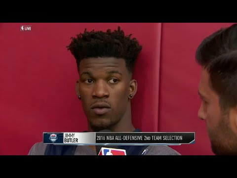 Jimmy Butler Interview On Dwyane Wade and Team USA