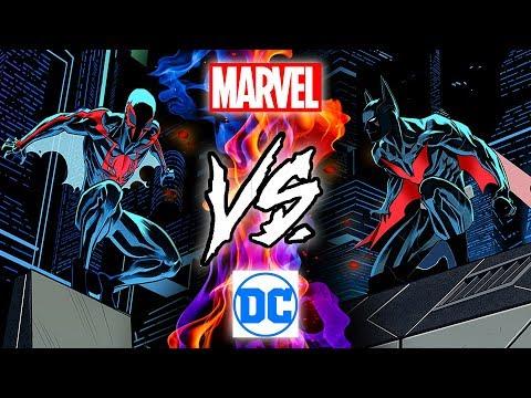Человек-Паук 2099 против Бэтмен Будущего - Альтернативная концовка