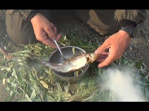 Как приготовить рыбу-иглу - видео
