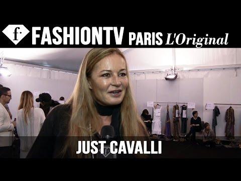 Just Cavalli Backstage   Milan Fashion Week Spring/Summer 2015   FashionTV
