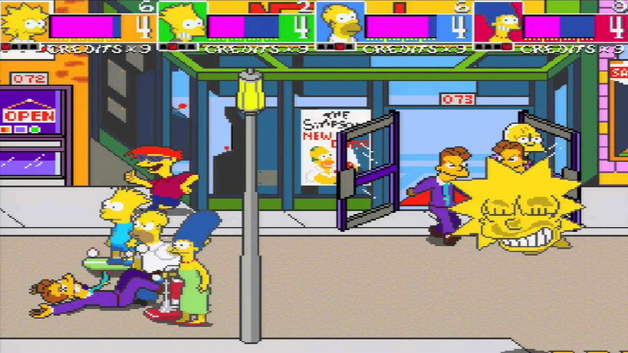 The Simpsons Arcade Game For