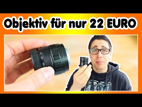 Cinema Objektiv für nur 22 Euro | Neewer 35mm f 1.7 REVIEW | Technik für Youtuber #2