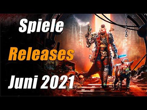 Spiele Releases im Juni 2021   Für PC, PS5, PS4, Xbox One, Xbox Series X