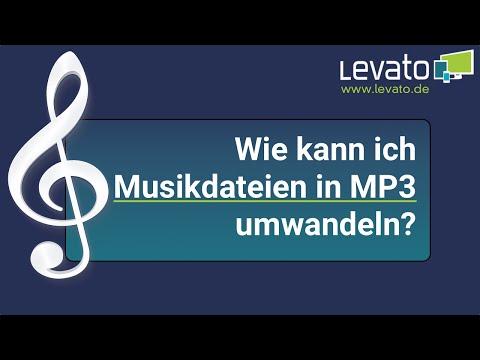 Levato.de | Wie kann ich Musikdateien in das MP3-Format umwandeln?