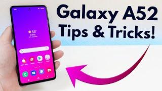 01. Samsung Galaxy A52 - Tips & Tricks! (Hidden Features)