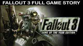 Fallout 3 All Cutscenes (Game Movie) Full Story 1080p 60FPS