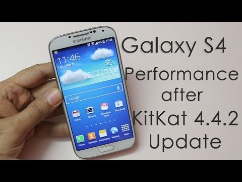 Samsung Galaxy S4 Performance Review After Kitkat Update video