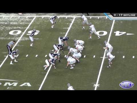 Skyline vs. Skyview 2011 Washington 4A Foootball Championship Highlights - 12/3/11