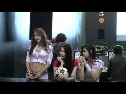 sexy Gstar booth girl clip( )