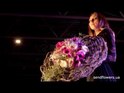 Креативные свадебные букеты от Лоры Белобровик на Flower Party 2013