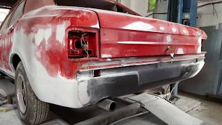 MK3 FORD CORTINA 2000E REBUILD AND RESPRAY