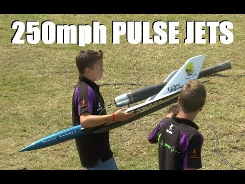 *FAST* 250MPH+ RC PULSE JETS AT WESTON PARK MODEL AIRSHOW 2014