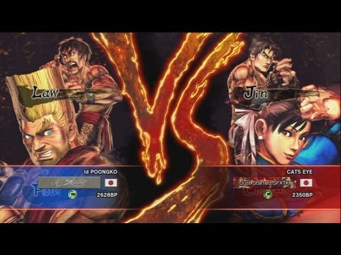 Poongko ( Law x Paul ) Vs Haneyama ( Jin x Chun Li ) SFxT 720p HD◄◄