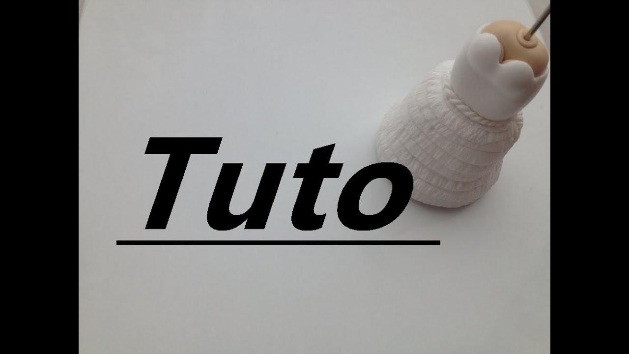 Tuto Fimo - Robe de mariée - YouTube