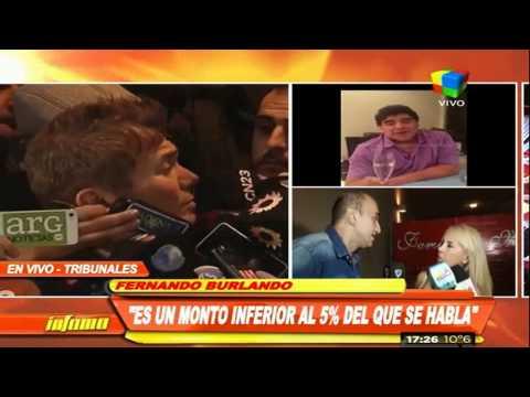 Fernando Burlando: Es un 5% del monto que se habla