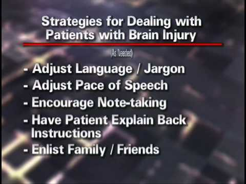 Treating Mild Traumatic Brain Injury  9 - Optimizing Recovery 1