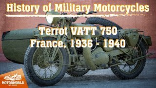 Terrot VATT 750 | 1939, France. Review & test-drive.