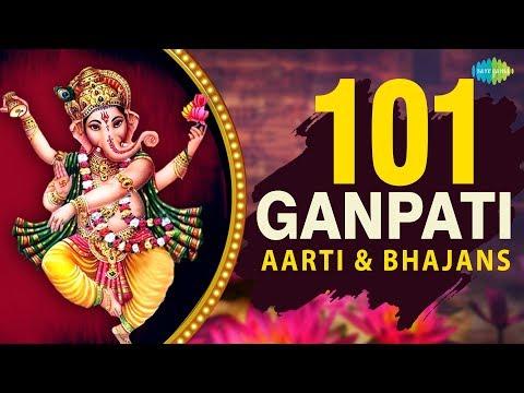 101 Ganesh Aarti & Bhajans | Deva Ho Deva | Aala Re Aala | Sindhur Lal Chadhayo | Ganpati Vandana