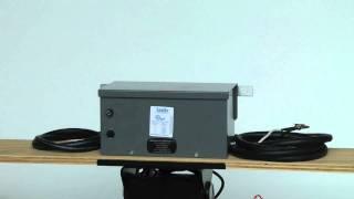 TX-500-120-240-50-60 .500kva Outdoor Rated Transformer - Input 120/240V 50/60Hz - 24 Volt Output