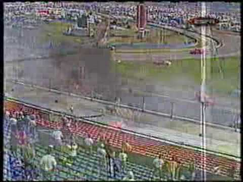 Bodine's scary truck crash Video