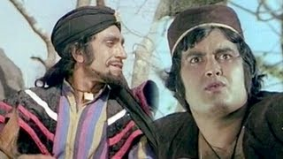 Khul Jaa Sim Sim The Magic Cave - Drama Scene - Amrish Puri, Prem Kishan - Alibaba Marjinaa