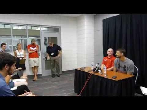 Michael Phelps Post Meet Interview UGA