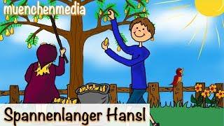 Kinderlieder deutsch - Spannenlanger Hansel - Kinderlieder zum Mitsingen