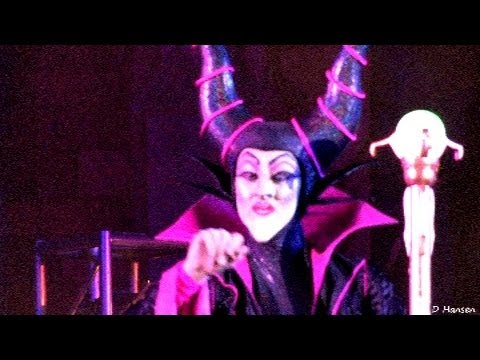 The New Disney Villain Dance Mix & Mingle Halloween Show (in HD)