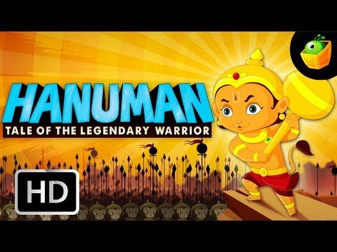 Hanuman Full Movie In English (hd) - Compilation Of Cartoon animated Stories For Kids video