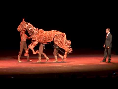Joey from War Horse at The Orpheum Theatre's Broadway Season Announcement Party