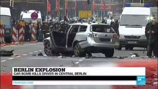 Berlin explosion: Car bomb kills driver in central Berlin