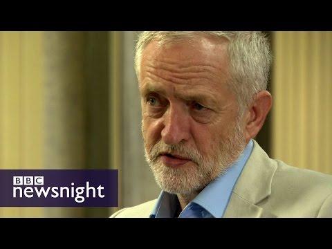Jeremy Corbyn on the Labour leadership race - BBC Newsnight