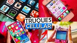 6 TRUQUES NOVOS E INCRÍVEIS PARA CELULAR   Android e iPhone