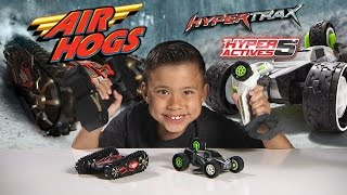 Air Hogs HYPERTRAX & HYPERACTIVES 5 - Extreme RC Vehicles! [EvanTubeHD CLASSIC WEEK]
