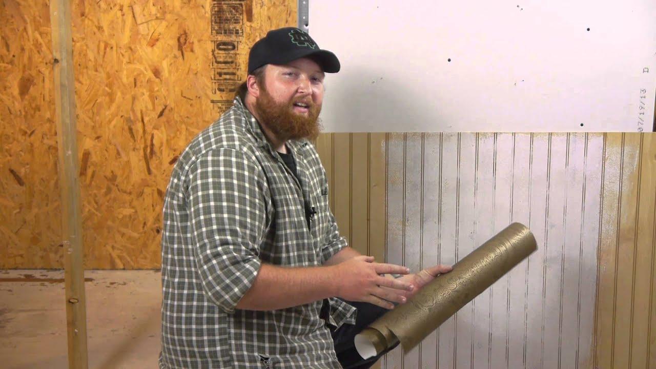How To Make Wallpaper Stick To Paneling Walls Paneling