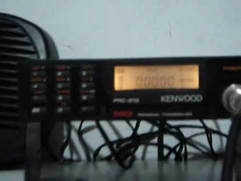 Kenwood Personal Transceiver PRC-21G 1st test on HAM Band 33 cm 904.8625 mhz 400 mW part 2