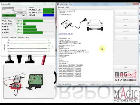 VAG 1 6 TDI SIMOS PCR 2 1 unlock and OBD tuning using
