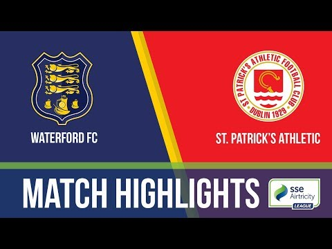 GW24: Waterford 1-2 St. Patrick's Athletic