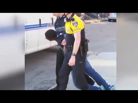 Latest Police Neglect Victim: Freddie Gray Dies Of A Severed Spine [Graphic Video]
