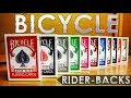 Deck Review-Bicycle rider back By The Us Playing Card Company