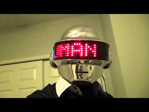Daft Punk - Thomas Bangalter Helmet Complete