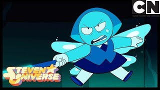 Steven Universe | Topaz Tries To Hurt Aquamarine | Stuck Together | Cartoon Network