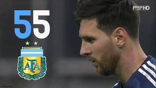 Lionel Messi • All 55 Goals For Argentina • NEW RECORD (HD)
