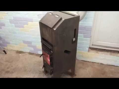 Gravity Feed Natural Draft Stove