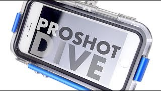 PROSHOT DIVE for iPhone 7 - BEST Waterproof Case - Review & Water Test