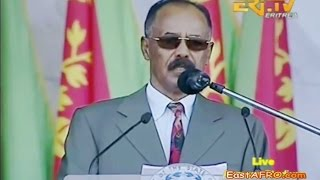 Eritrean President Isaias Afwerki Speech - On  Eritrea Independence Day 2015