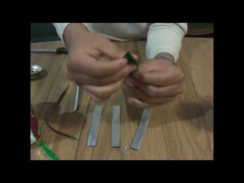 vídeo tutorial como hacer una flor con una lata de refresco 14 de febrero