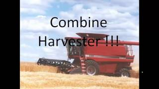 TKB - Big red combine harvester - Gangnam style remix