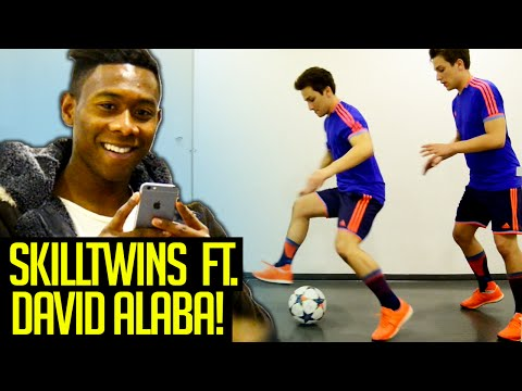 SkillTwins ft. DAVID ALABA - EFFECTIVE Football Skill Tutorial! ★