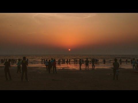 Epic Beach Sunset! : Vlogtober Day 11